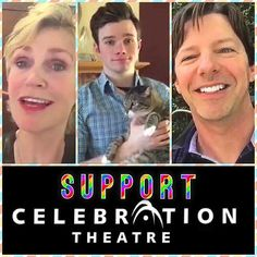 join JANE LYNCH, CHRIS COLFER, SEAN HAYES and many more and support #CelebrationTheatre ! …