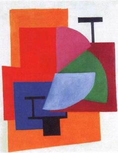Non-objective Composition  - Olga Rozanova http://decdesignecasa.blogspot.it