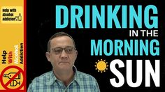 Drinking alcohol in the morning