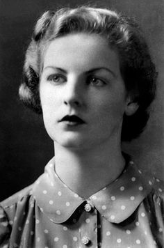 1st January 1941: The young Deborah Mitford, Dowager Duchess of Devonshire. When she married Andrew Cavendish, as the second son he did not expect to become duke, but his older brother was killed in the second world war