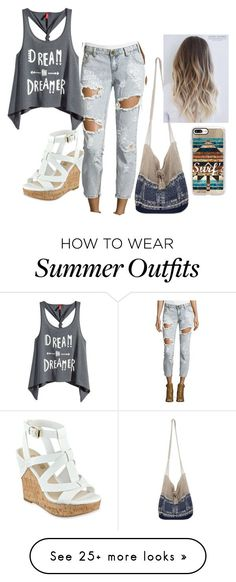 Summer Outfits : Outfit #582 by cheshirecatin-neverland on Polyvore featuring OneTeaspoon H&M