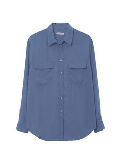 Our classic Signature Shirt in a new blue hue.