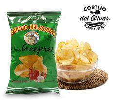 En Cortijo del Olivar sabemos que os gustan los sabores intensos, por eso nuestras patatas sabor granjeras están pensadas y elaboradas para ti.   Disfruta el segundo placer de tu vida!!