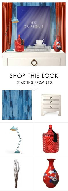 """""""Happy 4th of July!!-Home Decor"""" by jessiediy ❤ liked on Polyvore featuring interior, interiors, interior design, home, home decor, interior decorating, Designers Guild, Bungalow 5 and D.L. & Co."""