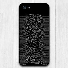 Joy Division Protective Hard Cover Case For iPhone 5 5S With Retail Package (Black or White Side)