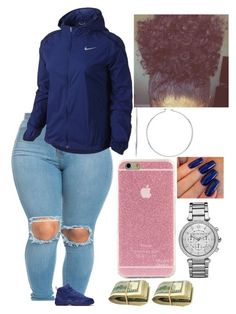 """""""Viernes"""" by amournyaa ❤ liked on Polyvore featuring NIKE and Michael Kors"""