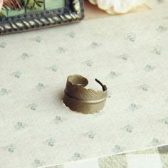 Simple Vintage Leaf Shape Alloy Handmade Ring For Women, AS THE PICTURE, ONE SIZE in Rings | DressLily.com