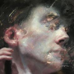 Henrik Uldalen, work in progress Portraits, Portrait Art, Painting Inspiration, Art Inspo, Henrik Uldalen, Eyes Artwork, Illustration Art, Illustrations, Classical Art