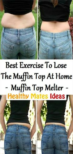 Best Exercise To Lose The Muffin Top At Home! Muffin Top Melter!