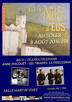 La ville du Soler accueille les Nits dEus le 8 août