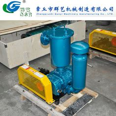 Low Noise Roots Blower for Food Packaging Vacuum pump