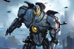Film Sketchr: Extraordinary New PACIFIC RIM Robot and Monster Concept Art by Oscar Chichoni, Doug Williams, Allen Williams, Frank Hong and Hugo Martin