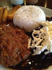 Awesome Asado Negro Platter at Arepas Grill.