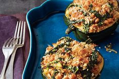 Find the recipe for Acorn Squash with Kale and Sausage  and other kale recipes at Epicurious.com