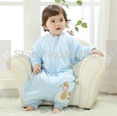 Cheap Natural algodón orgánico bebé saco de dormir infantil otoño e invierno dividida contra bata tipi bebé engrosamiento, Compro Calidad Sacos de Dormir directamente de los surtidores de China:         Tenga en cuenta que la bolsa tiene tres dimensiones :         S : 0-12 M         M : 1-3 T         L