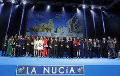 Junto a los premiados en la Gala Nacional del Deporte de la Nucía