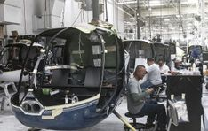 final assembly line Robinson Helicopter, Assembly Line, Press Release, Baby Strollers, Baby Prams, Prams, Strollers