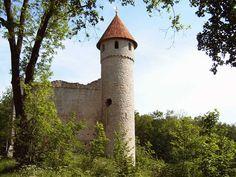 Burg Haineck | ... Burg Haineck, das Graue Schloss Mihla und die Rokokokirche in Berka