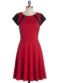 The Best for Contrast Dress, #ModCloth