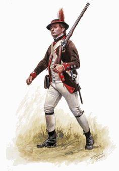 2nd Battallion Philadelphia Associates-1776, by Don Troiani.