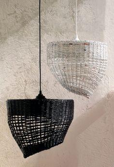 zestaw lamp wiszących Cofee & Milk // Barbórka Dizajn
