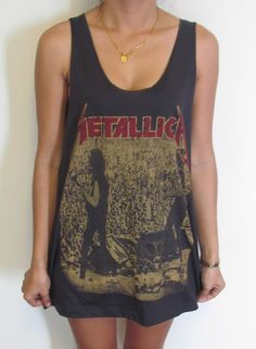 Metallica Unisex Vest Tank Top Singlet T-Shirt Retro Rock Punk Pop Slayer Megadeth Kreator Trivium Iced Earth