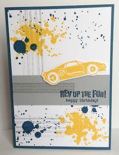 Kathryn's Stampin' World: Rev Up the Fun! and Gorgeous Grunge #StampinUp #RevUptheFun #GorgeousGrunge