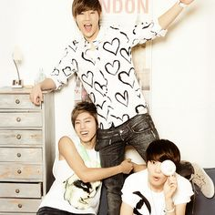#Sunggyu #Dongwoo #Sungjong of Infinite
