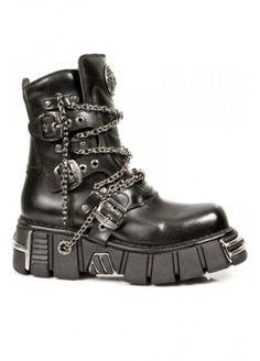 new rock laarzen heren