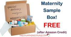 WOW! Get the Amazon Maternity Sample Box for FREE (after Amazon Credits!) Grab it now since these go FAST!  Click the link below to get all of the details ► http://www.thecouponingcouple.com/maternity-sample-box/ #Coupons #Couponing #CouponCommunity  Visit us at http://www.thecouponingcouple.com for more great posts!
