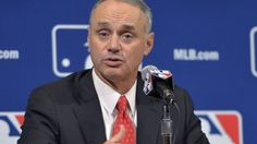 """Major League Baseball is also not ruling out Las Vegas as a potential destination sometime in the future. Commissioner Rob Manfred said he """"would not disqualify"""" the desert city as an option."""
