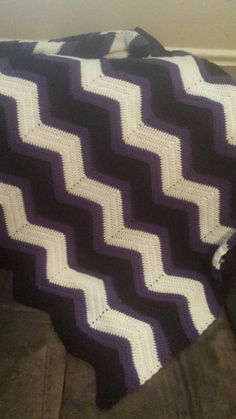 Check out this item in my Etsy shop https://www.etsy.com/listing/232945546/black-white-and-purple-chevron-print