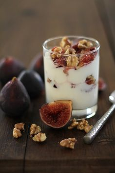 Roasted Fig & Walnut Parfait | http://www.theroastedroot.net