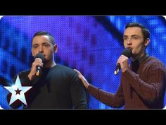 """Incredible"": The brothers and welsh duo of Richard and Adam do Nan proud. Sandwich shop workers Richard and Adam brought their biggest fan, their nan, along. Britain's Got Talent, Talent Show, The Voice Videos, Music Videos, Adam Johnson, Richard And Adam, Opera Music, Impossible Dream, Shopping"