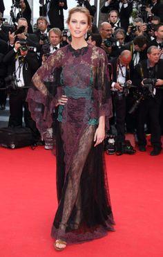 Karlie Kloss in Valentino, Cannes Film Festival 2014