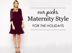 Maternity Style for the Holidays