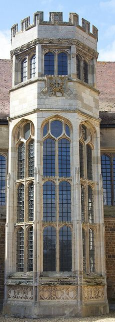 Fawsley Hall Tower, Northamptonshire.