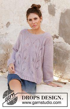 Women - Free knitting patterns and crochet patterns by DROPS Design Drops Design, Sweater Knitting Patterns, Crochet Cardigan, Scarf Patterns, Knit Cowl, Crochet Patterns, Summer Knitting, Free Knitting, Finger Knitting