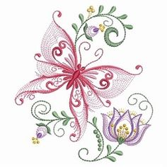 Rippled Dancing Butterflies 7 - 3 Sizes! | What's New | Machine Embroidery Designs | SWAKembroidery.com Ace Points Embroidery