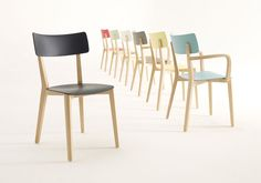 Zenith Interiors: Due Stacking Chair