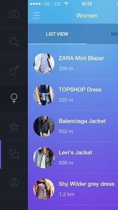 #mobile #menu #icone #active #sidebar  Inspiration Mobile #18 : Sidebar et Burger Menu | Blog du Webdesign
