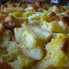 Scalloped Pineapple Recipe | Allrecipes Waffle Maker Recipes, Donut Recipes, Snack Recipes, Dessert Recipes, Cooking Recipes, Bread Recipes, Breakfast Recipes, Pineapple Recipes Video, Pineapple Desserts