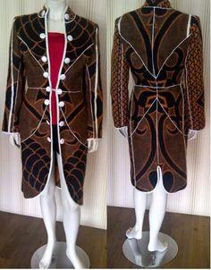 Thabo Makhetha design.  Basotho blanket. Lovely.