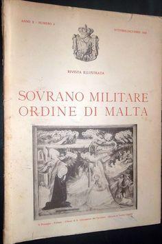 Rivista Illustrata - Ottobre-Dicembre 1946. #OrderofMalta #SMOM