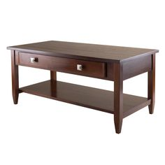 Amazon.com: Winsome Richmond Coffee Table with Tapered Leg: Kitchen & Dining