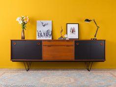 Vintage Kommoden - Einzigartiges Sideboard, Fristho, 60er, Vintage - ein Designerstück von Mid-Century-Friends bei DaWanda