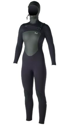 d93416fb79 Xcel Wetsuits Womens 54 Infiniti Full Suit All Black with Silver Ash Logos  10 Tall   To view further for this item