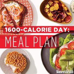 Flat-Belly Meal Plan: Breakfast, Lunch, Dinner and Two Snacks for Under 1,600 Calories   Women's Health Magazine