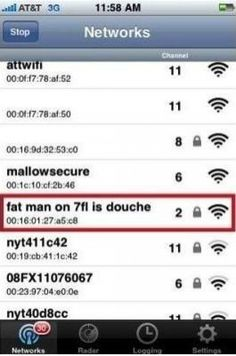 When the WiFi name becomes a massive weapon of war between neighbors... 22 photos !