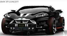 BMW X 9 Concept by Khalfi Oussama - I WILL TAKE ONE OF THESE UNIVERSE!